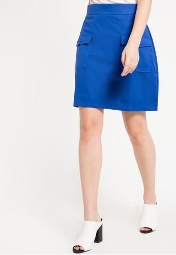 WISHFUL blue Lale Skirt WI930AA79JJCID_1