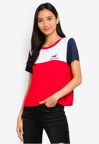 3409e38f37da Buy Hollister Sporty Print Tee Online on ZALORA Singapore