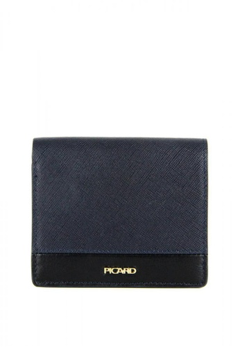 Picard navy Picard Lauren Small Wallet in Navy DDA53ACF0F255AGS_1