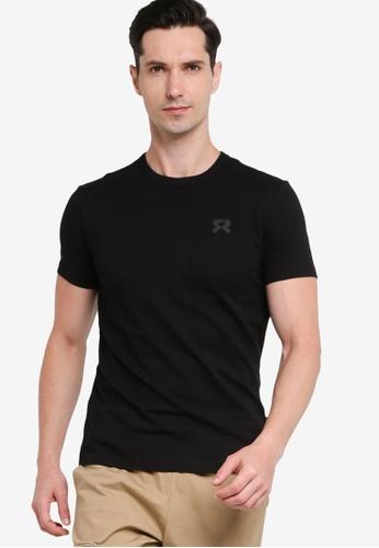 361° black Sports Life Short Sleeve T-shirt 4B132AADEE19AEGS_1