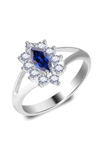 SC Tom Silver silver Birthstone Ring SC872AC0JAECPH_1