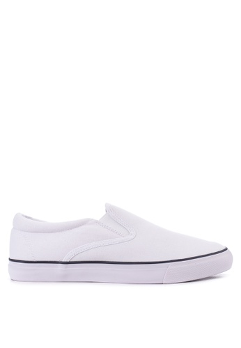 SONNIX white CN 250 Slip On Sneaker Shoes SO490SH63OAAPH_1