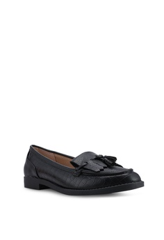 a16255d2f2d Dorothy Perkins Wide Black Laurie Loafers RM 159.00. Sizes 3 4 5 6 7