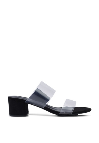 Nose black Transparent Upper Heels BFB39SH23443E9GS_1