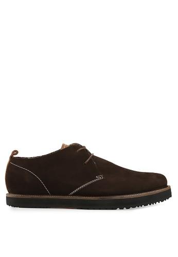 S.Baldo brown Arturo Casual Shoes SB324SH49UMSID_1