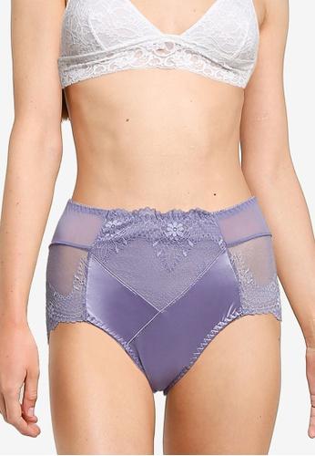 Impression purple Maxi Lace Panties 77072US1B3D3ADGS_1
