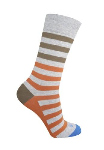 Mundo grey Mundo Jeans Casual Men Sock - JN2G005 6B0B1AAE74F1AAGS_1