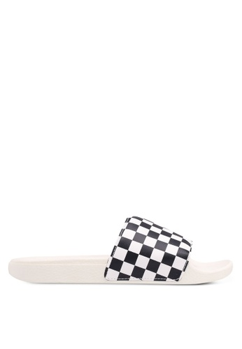 Buy VANS Checkerboard Slide-On Online on ZALORA Singapore c8c7e5e3250d8