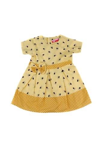 Pingu yellow Pingu - Dress Anak Perempuan A22A8KA03E2B98GS_1