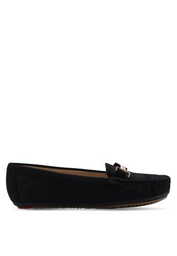 Noveni black Noveni Loafers A512DSH467EAA8GS_1