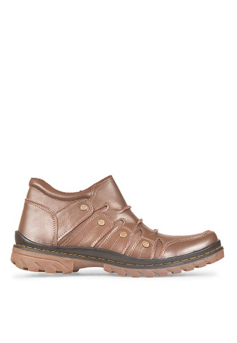 JAVA SEVEN brown JAVA SEVEN SHOES BOOTS COOL COBY HJD 827 (Brown) JA154SH58JGZID_1