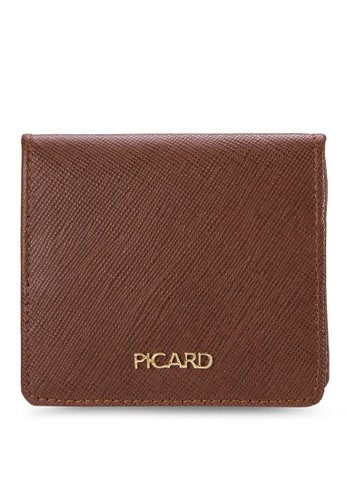 皮革方形零錢包, 包, 旅行esprit taiwan配件