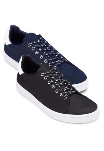 二入組異zalora 手錶 評價材質拼接休閒鞋, 鞋, 休閒鞋