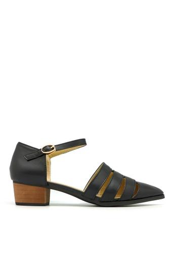 Carlo Rino black Carlo Rino 33320-A010-08 Pointed Toe Flats (Black) 228F3SH4E773AFGS_1