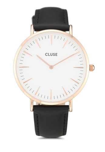 CLUSE black La Boheme Rose Gold White/Black ED2CBAC888D016GS_1