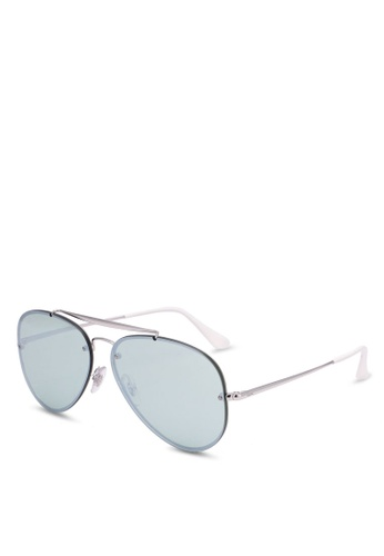 2d6ee49fb848 Buy Ray-Ban Blaze Aviator RB3584N Sunnies Online on ZALORA Singapore