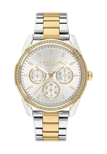 Coach silver Coach Preston Silver White Women's Watch (14503268) 1D3A5AC00C0D16GS_1