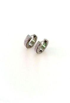 Glitter Stainless Earrings