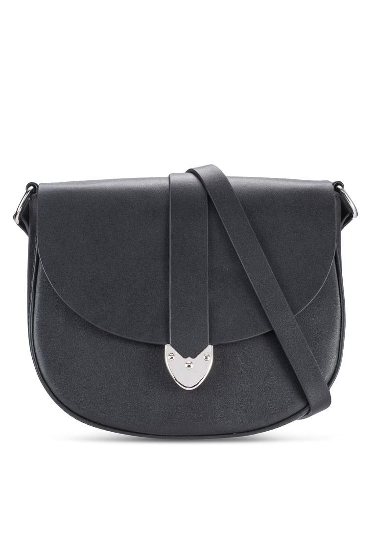 Metal-Tipped Small Saddle Bag