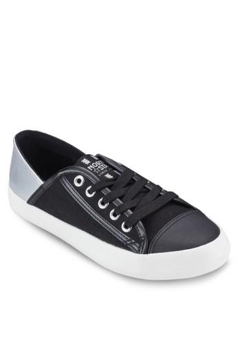 撞色鞋背繫esprit tote bag帶休閒鞋, 女鞋, 鞋