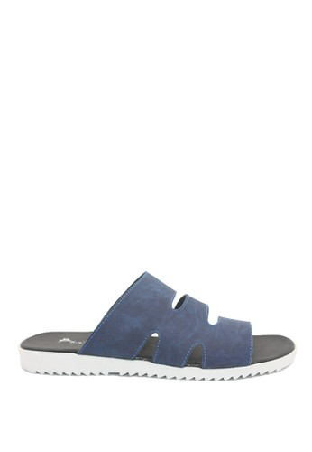 Dr. Kevin blue Dr. Kevin Men Casual Sandals 17218 - Blue DR982SH0V9CLID_1