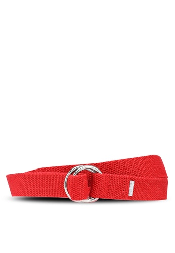 niko and ... red Color Tape Belt F6A11AC784115CGS_1