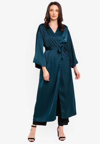 Zalia green Kimono Cardigan 1EB87AACD2F212GS_1