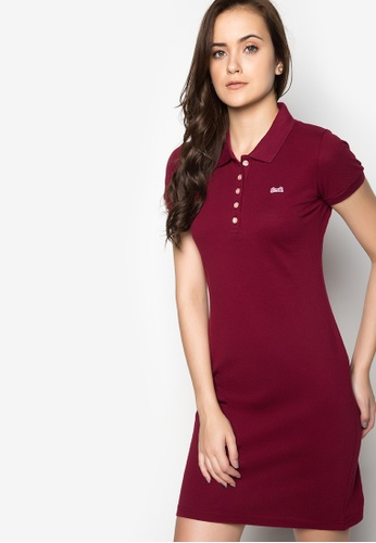 Le Tigre red Ladies Dress LE798AA37XSGPH_1