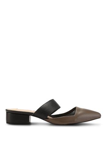 OCEEDEE 褐色 Annette 平底鞋 7E0E5SH19D635FGS_1