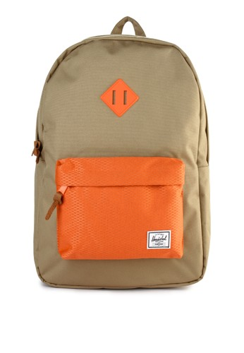 Herschel multi and brown Heritage Backpack B3E11ACD442781GS_1