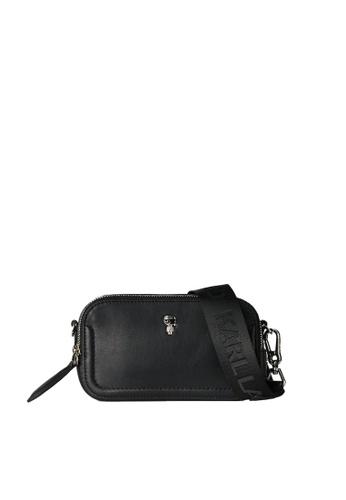 KARL LAGERFELD black K/Ikonik 3d Pin Cb 21815ACDDC471FGS_1