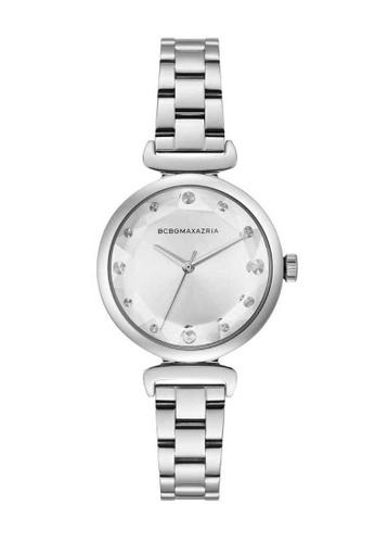 BCBG silver BCBGMAXAZRIA Silver Watch F7199ACADB1B23GS_1