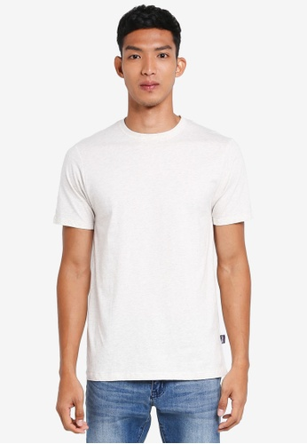Patagonia white Daily Tee PA549AA0SVOUMY_1