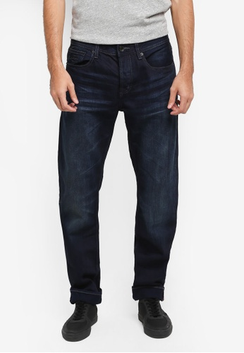 Superdry blue Copperfill Loose Jeans SU137AA0T22DMY_1