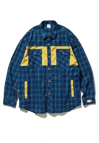 Twenty Eight Shoes Loose Contrast Plaid Shirt 92113W B7137AA0970C59GS_1