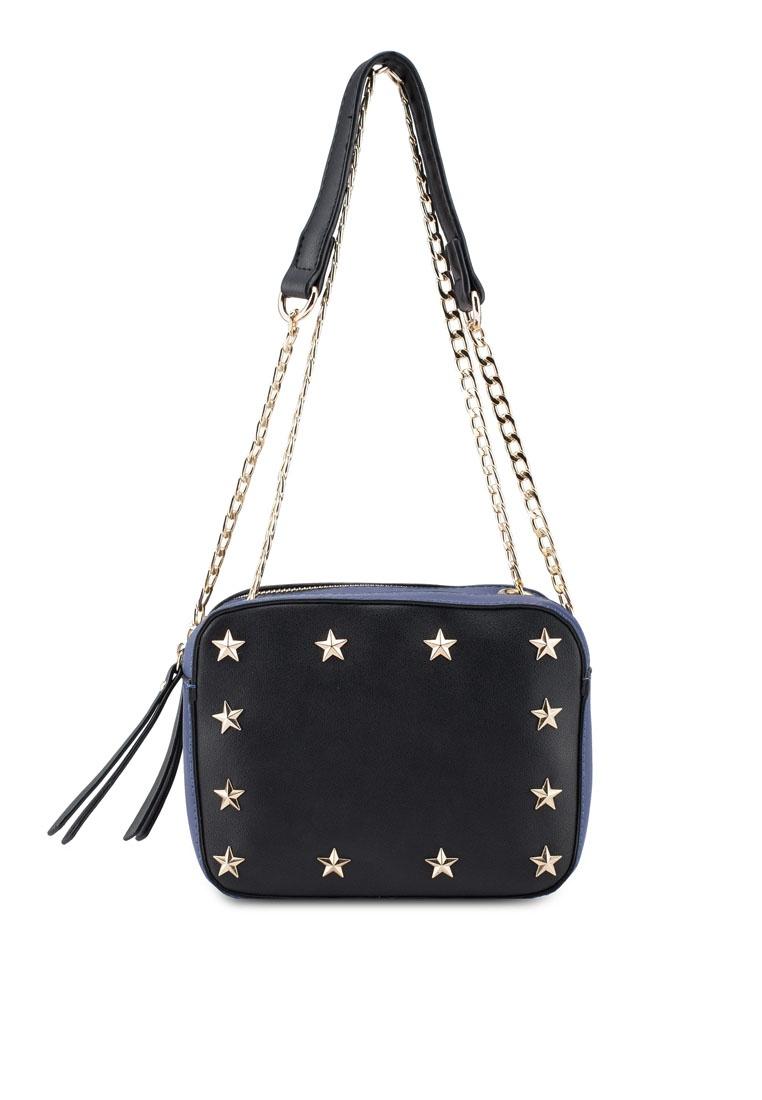 5a8ef9ee95 Black Starry Keddo Bag Sling Black Friday Blue vrcvS --ireland ...