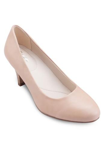 HOOR 簡約低根esprit童裝門市鞋, 女鞋, 厚底高跟鞋