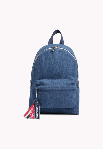 f06d13ce723 Tommy Hilfiger blue Tju Logotape Mini Backpack Den 26B1AAC3A56E49GS_1