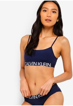 93e3815c4b0c9d Calvin Klein blue Light Lined Bralette - Calvin Klein Underwear  7A029US464A1AFGS 1