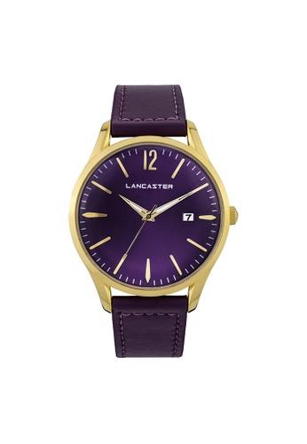 Lancaster Paris purple Heritage 3 Hands LA452AC0GA1ESG_1