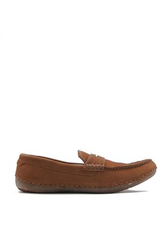Hush Puppies brown Phil Penny Mens Casual Shoes 34349SH77FDB7BGS_1