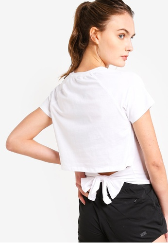 Cotton On Body white Knotted Hem T-Shirt 2ABFEAAF7F08FEGS_1