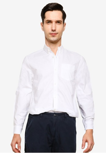 Superdry white Classic University Oxford Shirt 0EE3EAA2D49894GS_1