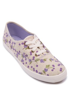 CH Taylor Swift Berry Floral Sneakers
