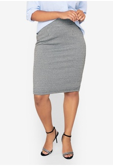 b022c3d2609 Only CARMAKOMA Plus Size Sisal Short Skirt RM 239.00 NOW RM 59.90 · Plus  Size Houndstooth Skirt 38951AA00CF750GS 1