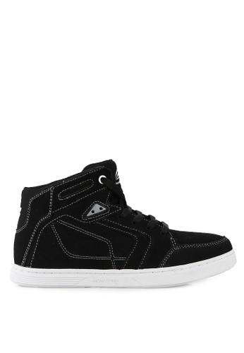Homypro black Storm Hi-Top Sneakers HO843SH61CLAID_1
