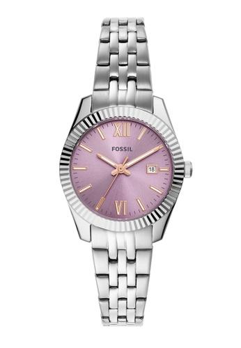 Fossil silver Scarlette Mini Watch ES5105 812A6ACE0B7363GS_1