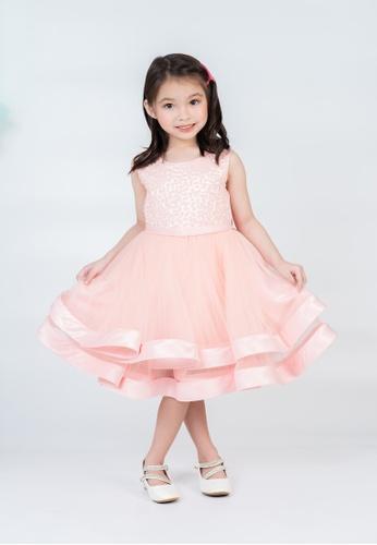 LASSIE & LADDIE pink Kyndra Occasion Dress F6869KAF05E79CGS_1