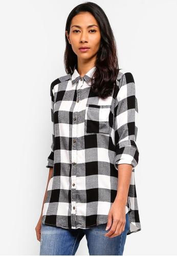 de8bf6065e5e Buy Hollister Long Sleeve Xmas Plaid Shirt Online on ZALORA Singapore