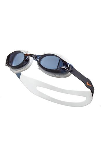 Nike grey and white Nike Youth Chrome Training Goggle 3DB12AC5BB3B65GS_1